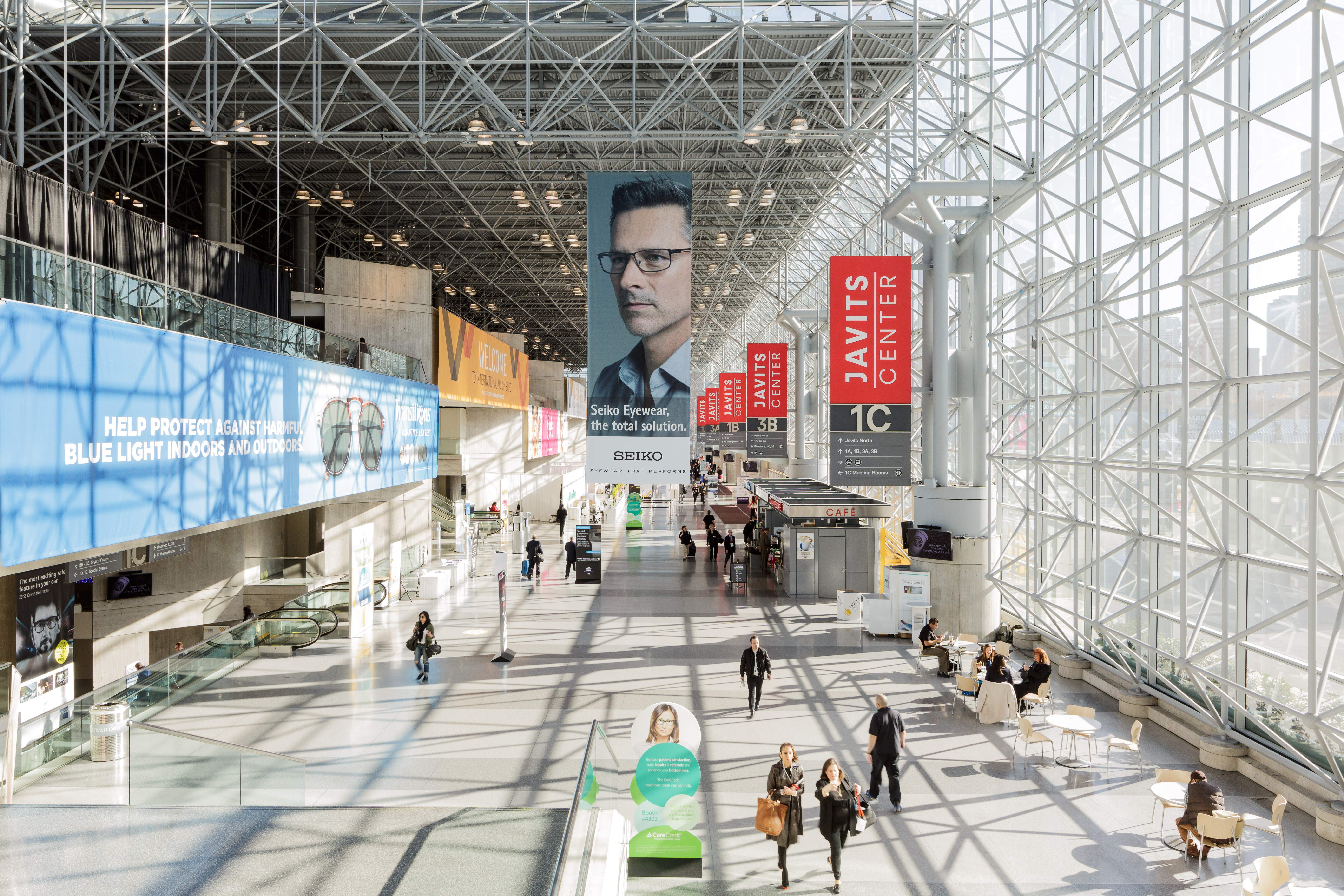 trade show photography, Javits Center in New York City